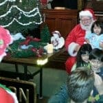 Santa & kids