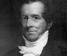 Thomas Hopkins Gallaudet, pioneer in deaf education, for whom the town was named.
