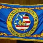 Volunteer Fire Department flag.