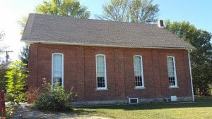 FTHS Meeting House with new roof