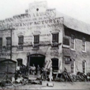 H.A. Waterman Company Carriage Works, New Bethel/Wanamaker Indiana