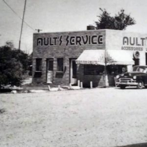 Ault's Service Station, Franklin Township Marion County Indiana