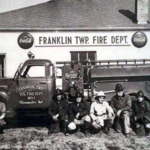 Franklin Township Marion County Indiana volunteer fire department